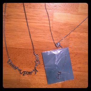 Three stainless steel Effy necklaces